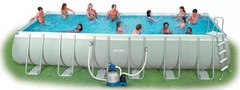 Бассейн каркасный ULTRA FRAME POOL INTEX 732х132 фото